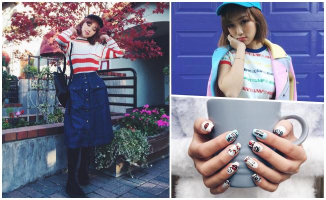 KAREN YEUNG Follower:317K 在美國非常有名的香港潮人(謝謝網友提供資訊~),雖然不是韓國女孩,卻與韓國時尚圈以及美妝界關係相當親近!風格比較前衛大膽~