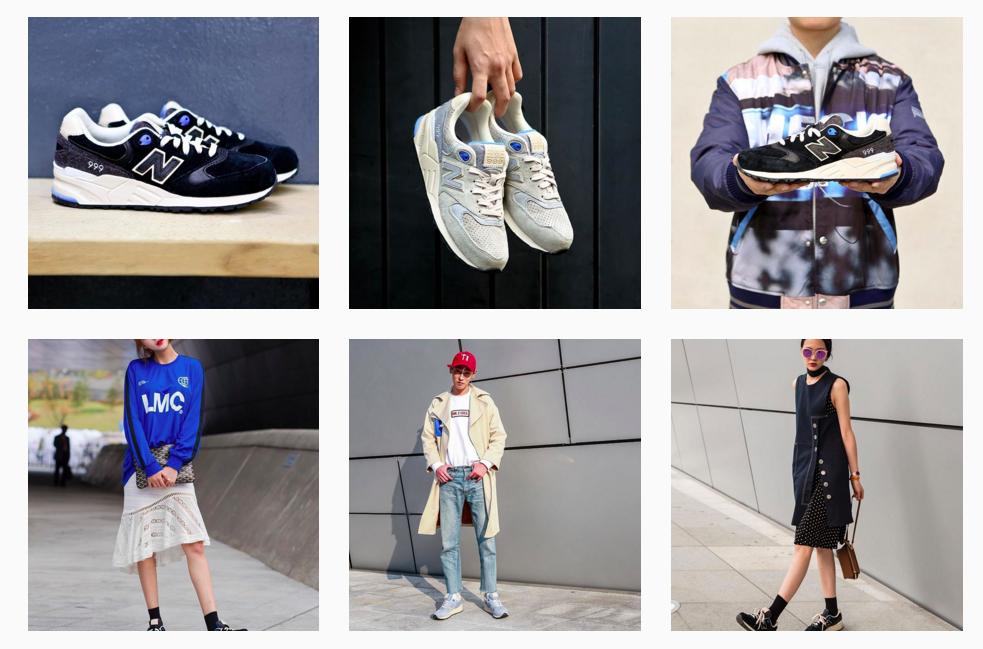 榜單上後續排名為:@Jumpman23、@nikesportswear、@coverse等。 深受亞洲潮人喜愛的NewBalance 排名約是第八左右!