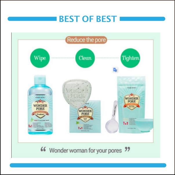 #Etude House 緊囊妙劑毛孔淨化系列 其中最多人推薦的調理液加入了薄荷精萃還有許多有機天然的植物萃取,可以深層清潔毛孔,抑制皮脂分泌,還可以預防毛囊蟲引起的發癢問題!