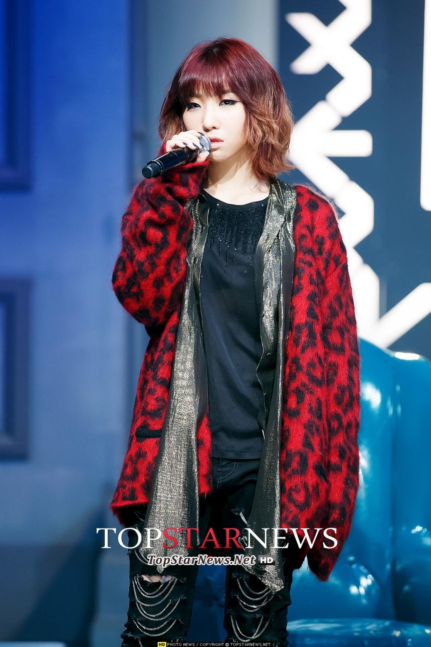 1月18日 - 2NE1 Minzy