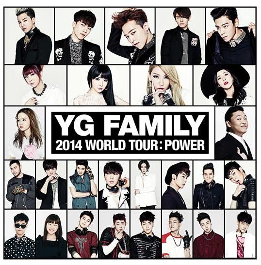 這次的文章主角是「YG Family」!