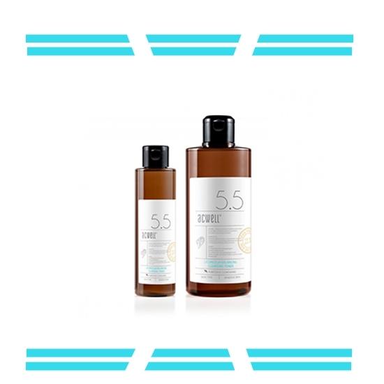 【Acwell多效平衡潔淨爽膚水】 弱酸性甘草化妝水可以鎮定保濕、綜合清潔、皮膚平衡,也兼具卸妝水功能!用化妝棉擦拭就可解決複雜的卸妝,不需要再洗臉就可以一次去除妝容還有保濕的效果,若要濕敷也很好用!