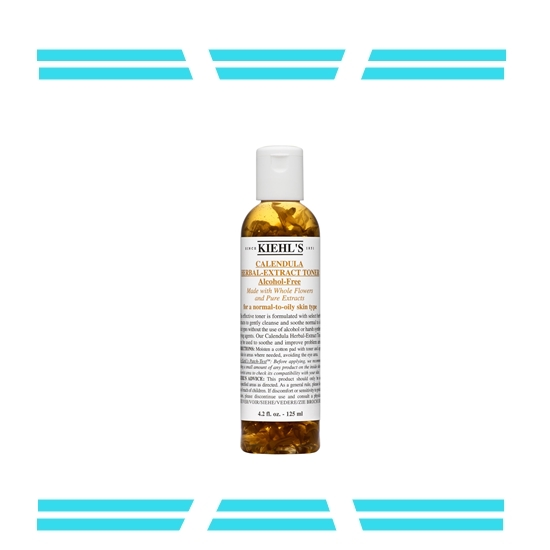【Kiehl's 金盞花植物精華化妝水】 在台灣也很受歡迎的金盞花化妝水,具有鎮定肌膚的療癒效果,非常適合敏感性肌膚使用!台灣也買得到加大版的喔!