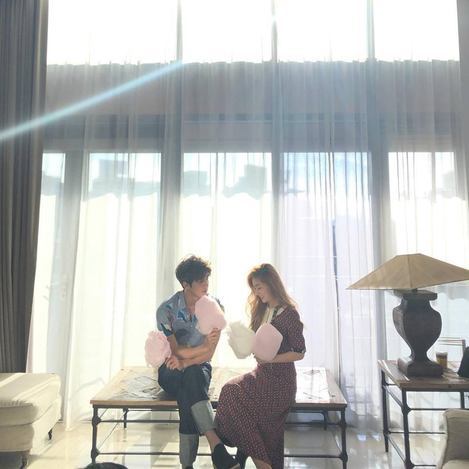 今年CECI二月號也與Red Velvet隊長Irene共同拍攝