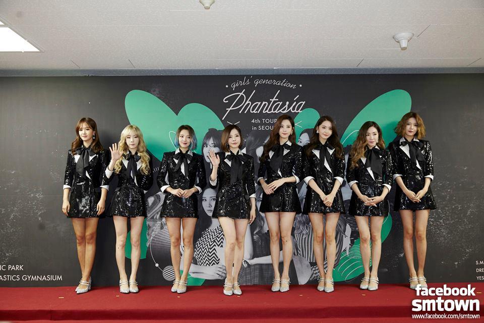 今年少女時代將以《GIRLS' GENERATION 4th TOUR – Phantasia》名稱展開各國巡迴演唱會。