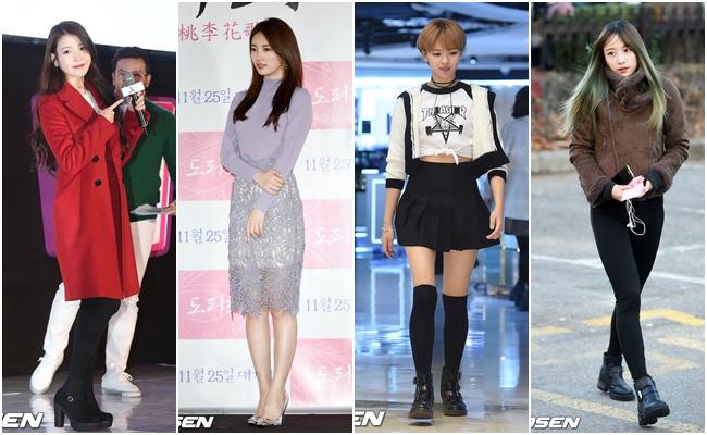 今年度才剛開始,就有四位偶像被時尚品牌們指名關注,分別是IU、秀智、TWICE 定延、EXID HaNi!既然都說了要指定關注,就來看看她們的私服表現吧!