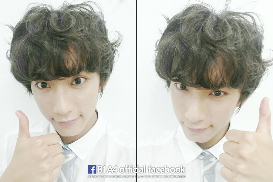 ♥ B1A4 孔燦  有一雙可愛狐狸眼睛的孔燦,也是韓國網友眼中擁有王子像的男孩。
