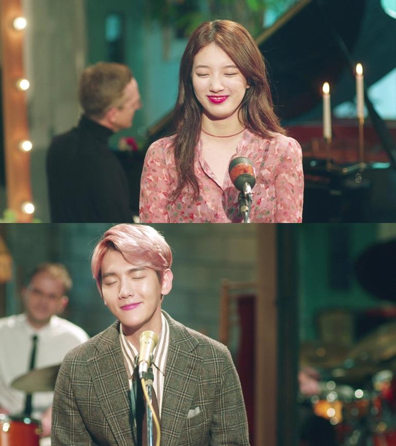 在昨天的 11 點公開的《Dream》的 MV 和音源 這首歌也是 SM 和 JYP 兩大經紀公司第一次聯手出「輯」