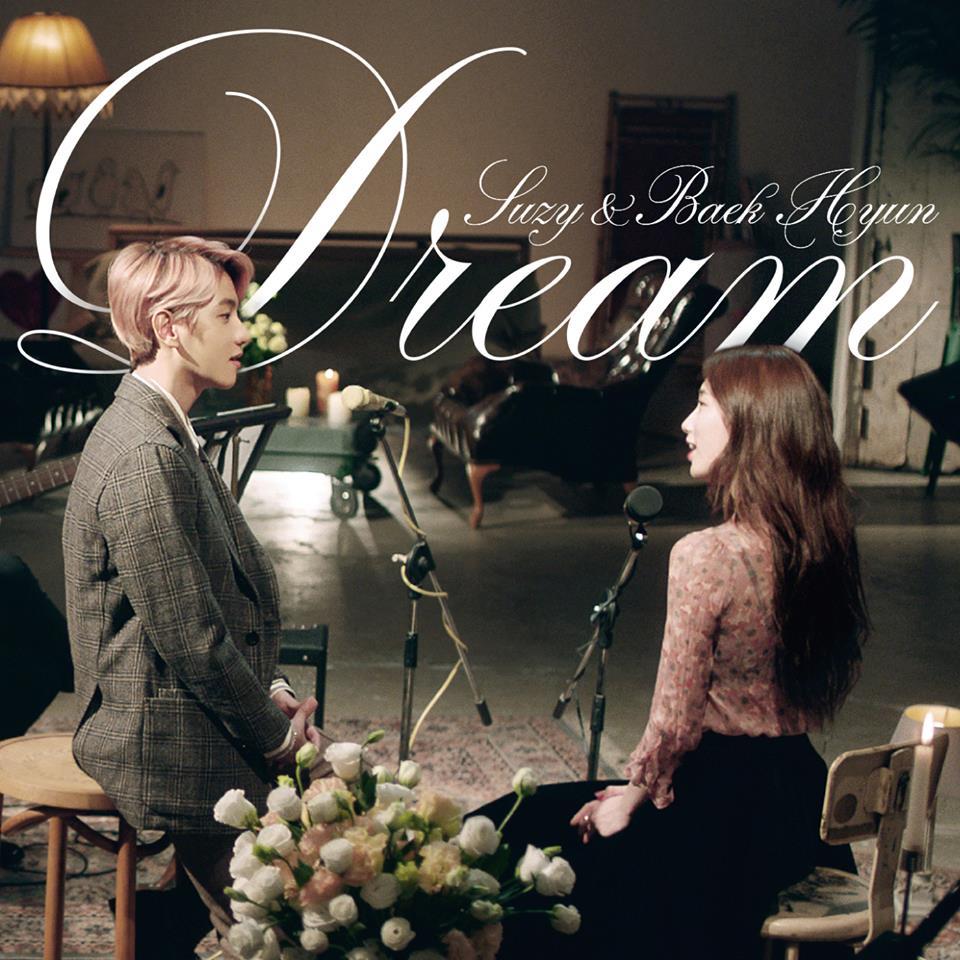 7日公開音源的Dream,合作對象為S.M(EXO)的伯賢&JYP(miss A)的秀智