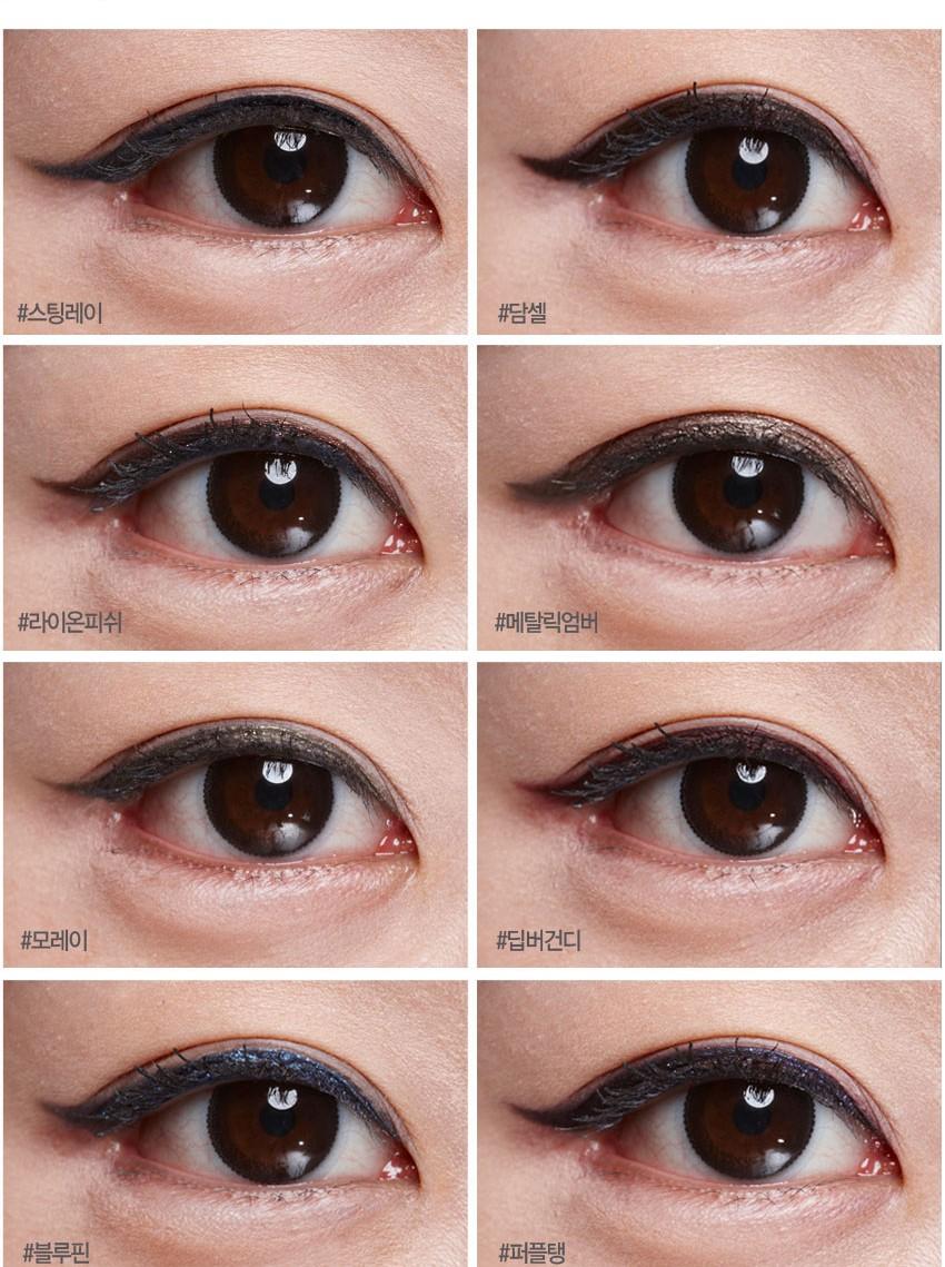 被票選為第二名的眼線筆有著絕妙的防水功能,一整天都能維持完整的眼妝!