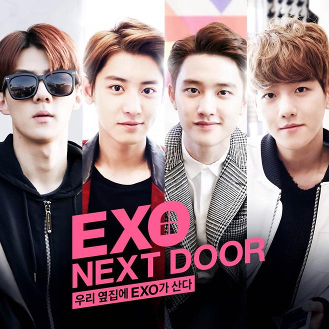 TOP 2. 我的鄰居是EXO 累積瀏覽數:18,357,890