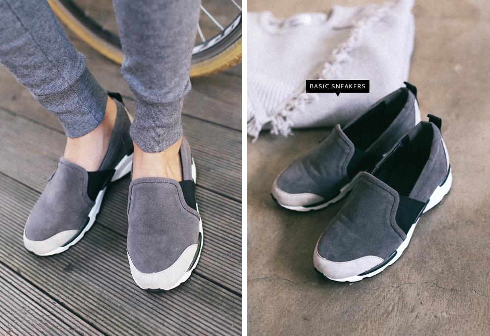 屬於便鞋風格,一穿就能溜走的運動鞋也很多!單看好像很單調,其實很百搭呀!