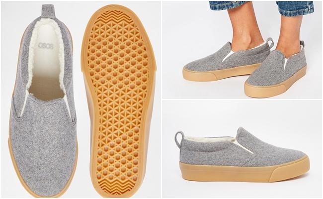 另外,不一定會買名牌的鞋款還有懶人鞋~懶人鞋的設計風格越來越多變,最近也推出很多適合冬天穿的毛毛款喔!