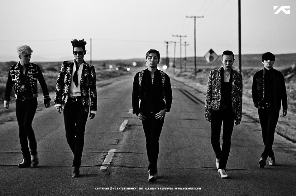 這個名單中有紅翻全球的BIGBANG