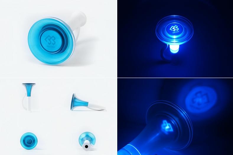 小編覺得BTOB手燈造型很特別耶XD拿出來揮舞的感覺很有趣哈哈,也很方便打人(誤)