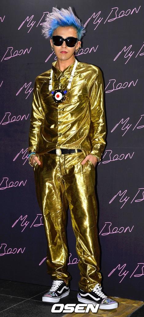 G-Dragon 該怎麼說呢...我相信GD的cody就是你自己~只有GD可以超越GD(點頭)