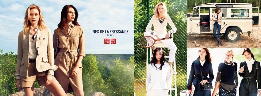 繼上一次的合作之後,UNIQLO再次與法國知名時尚女神伊內絲・法桑琪合作打造2016年春夏的限量聯名系列~這次則是以復古運動風為主軸,走一個法式休閒的風格