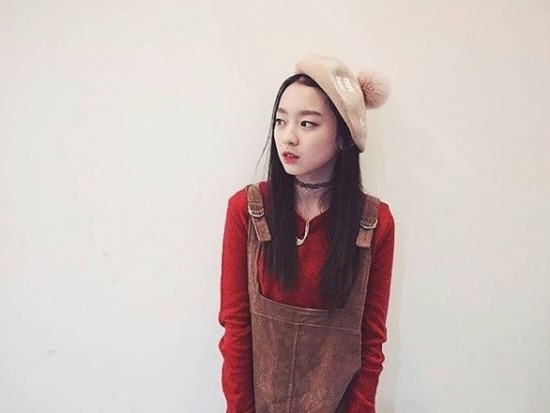 不管怎麼樣,希望她可以順利長大,在韓國演藝圈繼續發光發熱囉♡fighting!!