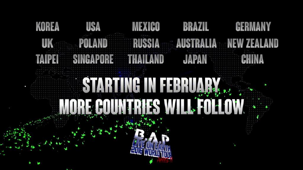 出演國家如上,台灣也會來呢!