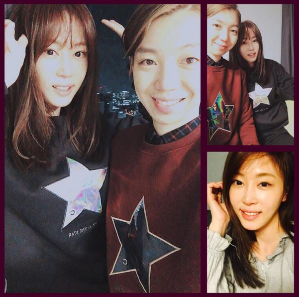 因出演綜藝節目《我們結婚了》開始在海外打開知名度的演員姜藝媛也有一件~
