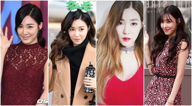 Tiffany的髮型長度雖然沒什麼改變,但是在瀏海與髮色之間稍稍有些變化,前陣子短時間的漸層染,Tiffany本人似乎也很滿意呢!