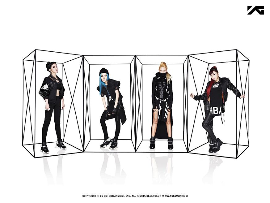 9. 2NE1 2009年出道約6年8個月