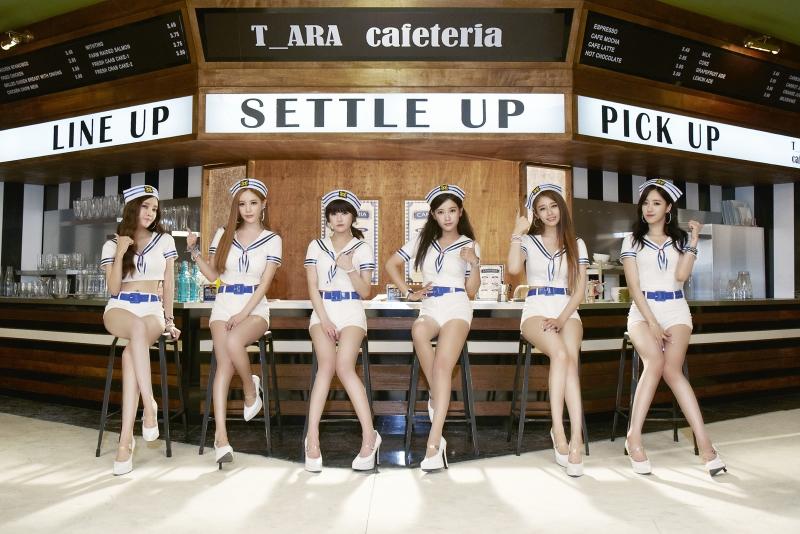 6. T-ara 2009年出道約6年6個月