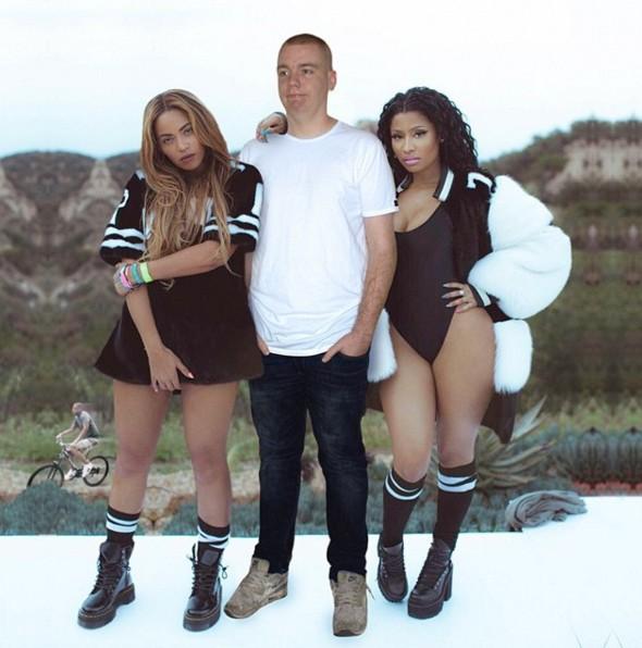 Beyonce和Minaj都被我征服啦~