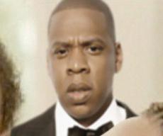明顯Jay Z 是受到了驚嚇!!