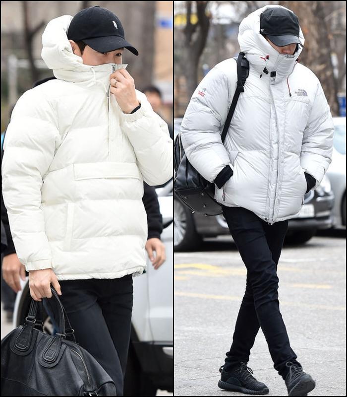 有人穿得很像杯麵!- feat. EXO Suho 和燦烈。