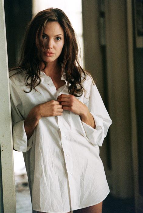 性感霸氣的Angelina Jolie