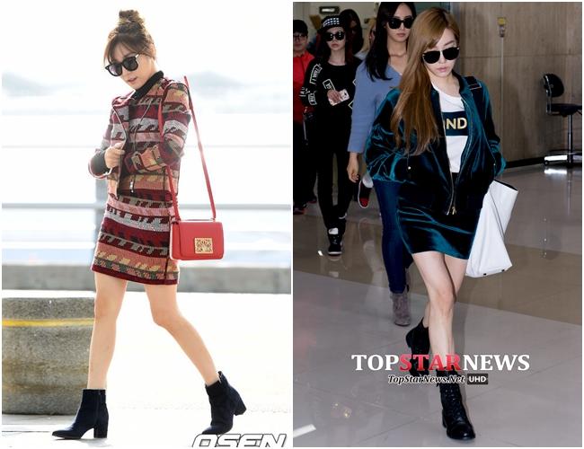 【套】 除此之外,Tiffany也喜歡穿Matching Set套裝,色調一致的風格也可以修飾身材!