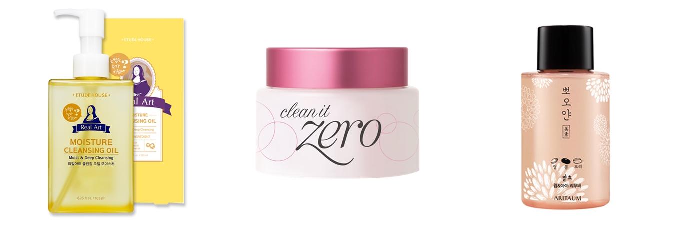 配合不同妝感有不同質地的卸妝品。淡妝可用卸妝水,較濃妝則用霜類卸妝,不過還是依個人膚質而定喔!