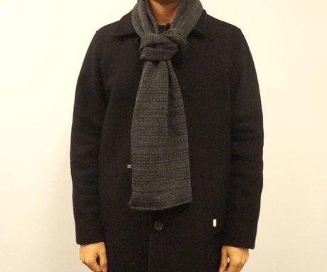 第三種:暖男丹迪style 這種打法很像領帶的感覺,滿適合男生學起來~ 因此我們特別派出StyleShare編輯部的暖男歐爸示範紳士風!