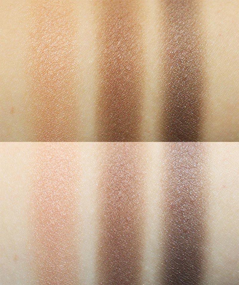 在不同膚色上的顯色效果也不一樣~