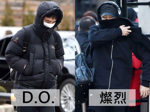 我們直接從EXO當中挑出最愛穿單色系、素色的成員挑起,分別為D.O.和燦烈