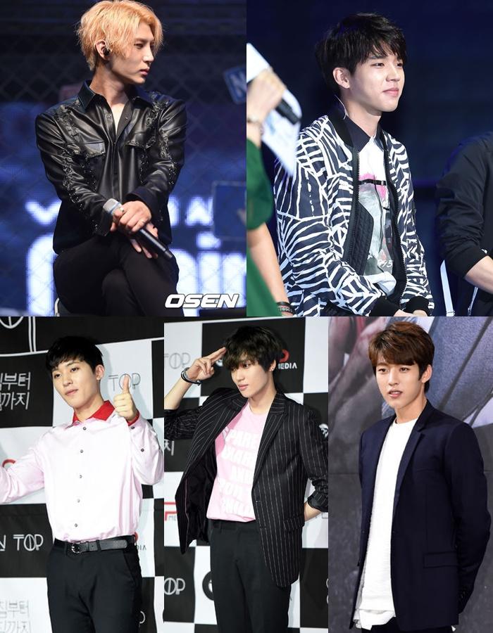 韓國網友列出了幾位曾經在《偶像明星運動會》上受過傷的偶像,首先是男偶像就有VIXX Leo-腳腕受傷、INFINITE優賢-肩膀受傷、成烈-脖子、腰部受傷、TEEN TOP的創造和Niel也受過傷