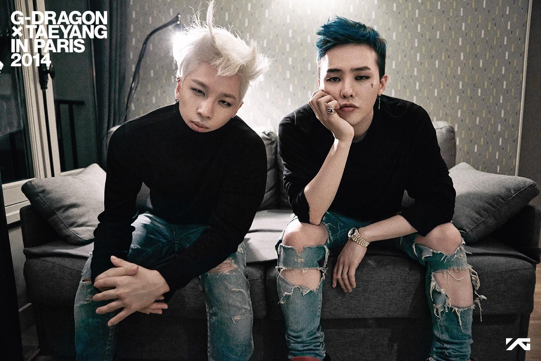 度過了蠍子造型,讓我們迎來了夢幻國度來的王子,對VIP們(BIGBANG粉絲名稱)說:你們都撐過去了,很好!(拍肩安慰)