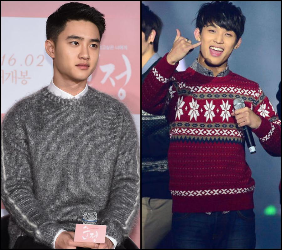 ♫ 〈主唱〉第 1 組:  EXO D.O. & BTOB 炫植