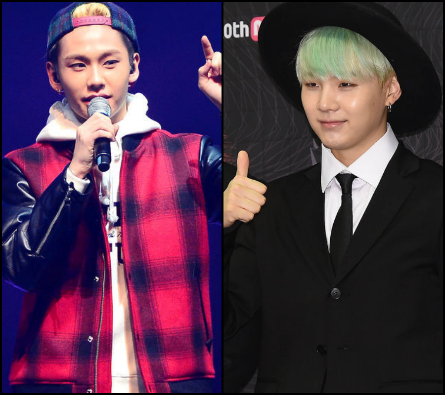 ♪ 〈Rap〉第 2 組:  BTOB 鎰勳&防彈少年團 SUGA