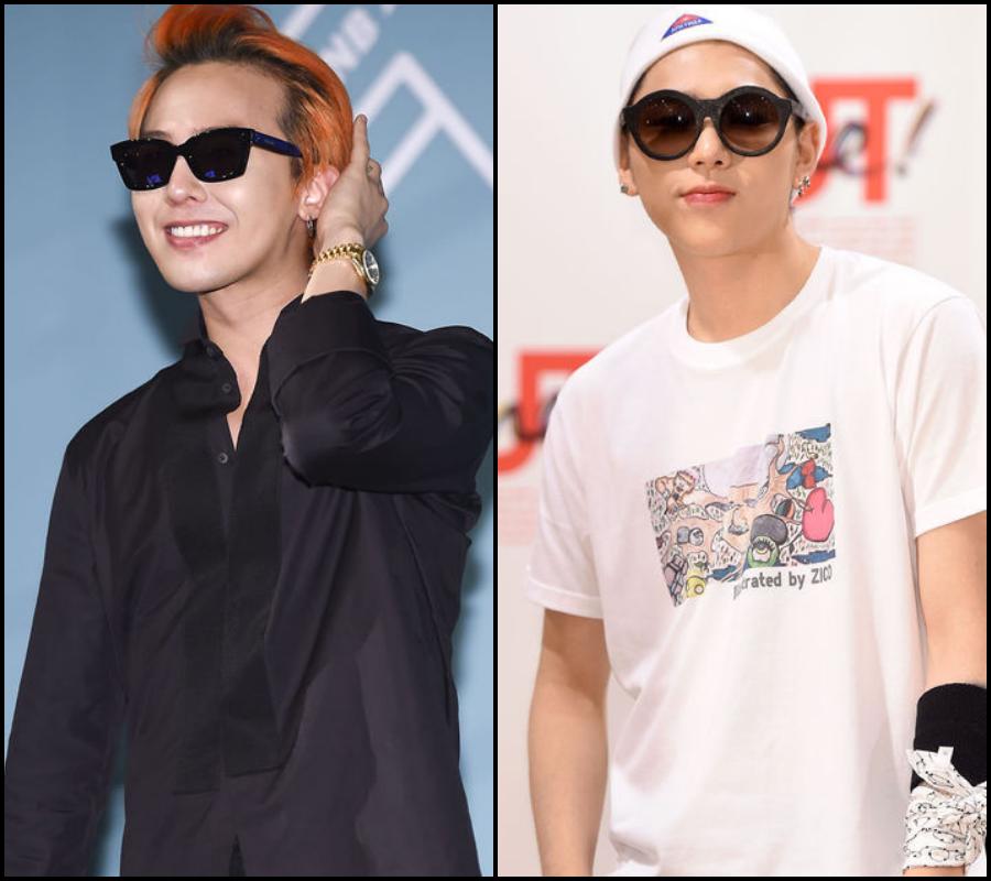 ♪ 〈Rap〉第 3 組:  BIGBANG G-Dragon&Block B zico