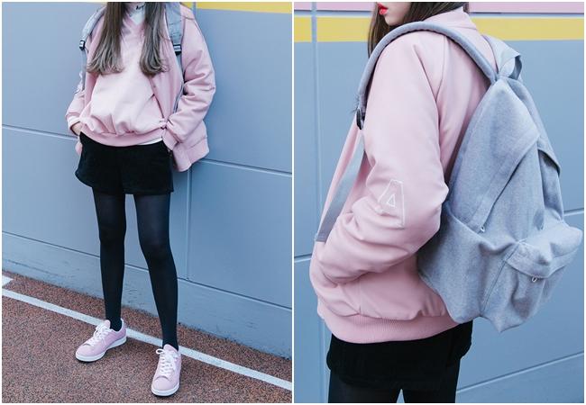 難道除了大衣沒有別的選擇?等等,這個冬天詢問度最高的飛行夾克、棒球外套也是一種新鮮的選擇,避開最多人買的軍綠色、黑色,試試看亮眼的粉紅色吧!