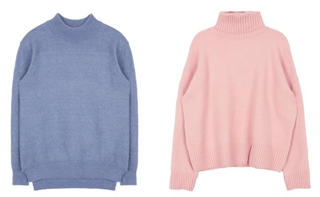 針織衫則能夠傳達復古的摩登感,無論是搭配冬季的緊身褲,或是迎接春季的短裙,都很百搭喔!
