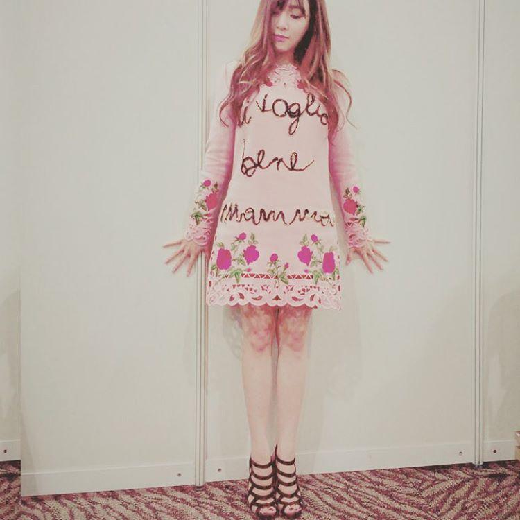Tiffany~本名黃美英,如果有「Pink」這個姓氏,搞不好她很願意改名XDD