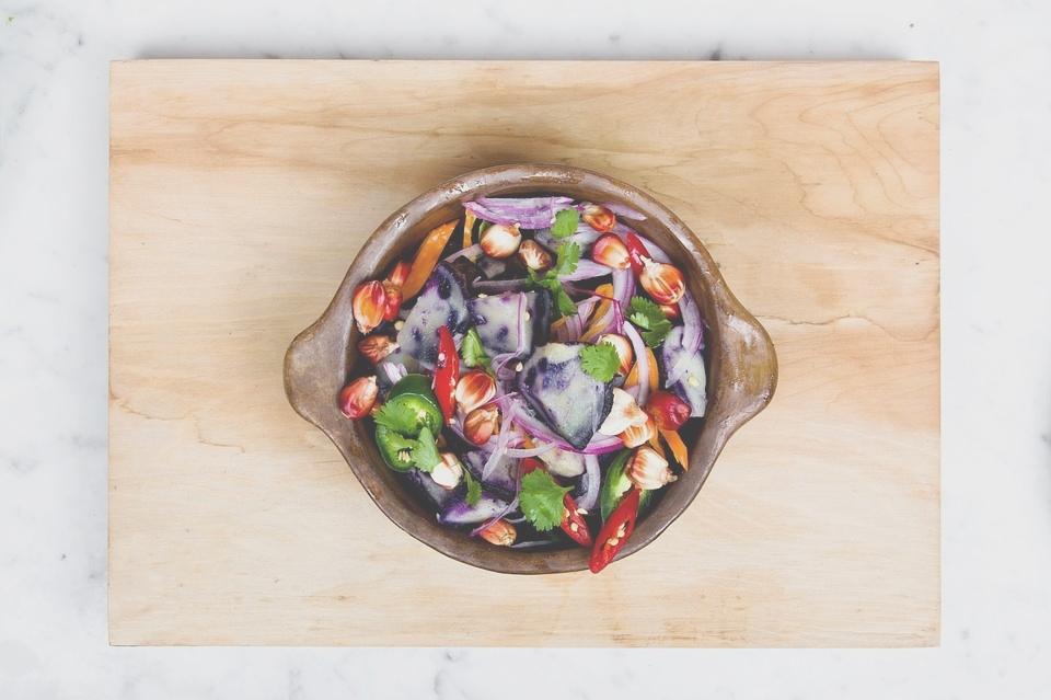 因為蔬菜含有很多基礎代謝所需的營養成分,所以一定要大量攝取!
