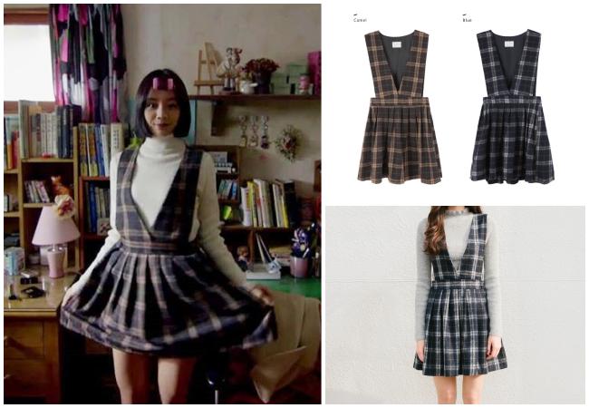 《請回答1988》有許多單品都來自mixxmix,包括這件復古連身裙也是!