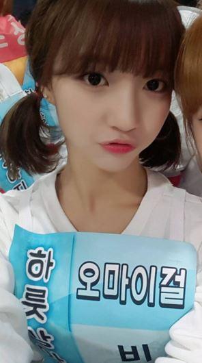 ►Oh My Girl Binnie -「如果說到Oh My Girl的外貌擔當,首先會想到YooA和JiHo,個人覺得Binnie擁有不輸給她們的美貌,有著自己的特色。」
