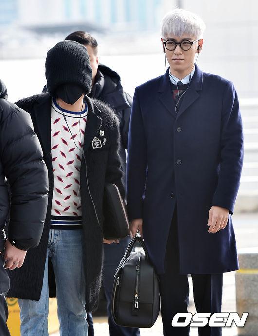 不過據說,這次跟T.O.P一起出發的,還有一位BIGBANG的成員....(謎之聲:誰?你說誰?沒看到啊)