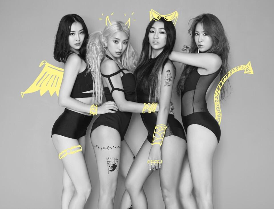 #SISTAR_孝琳、韶宥 出道初期SISTAR最有名的想必就是孝琳吧,韓國歌壇裡少見的小麥色肌膚再搭上孝琳獨有的舞蹈風格,想不注意孝琳的性感都很難。後來韶宥減肥有成之後又變成韓國女生「Wanna be」的身材第一名