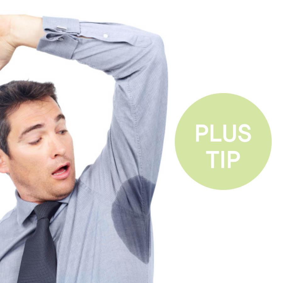 尤其是夏天,腋下因為出汗,腋下部分的衣服也會跟著變黃,不管怎麼清洗,也很難洗白。
